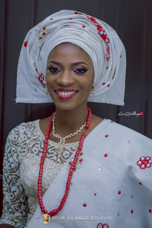 Nigerian Traditional Bride Lamide and Biodun Seun Kilanko Studios LoveweddingsNG