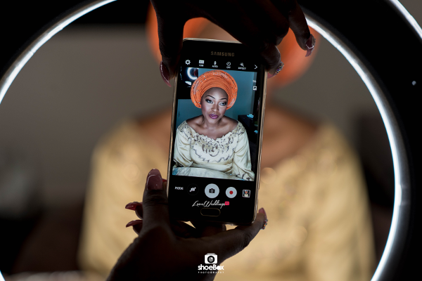 nigerian-traditional-bride-selfie-moji-and-fola-loveweddingsng