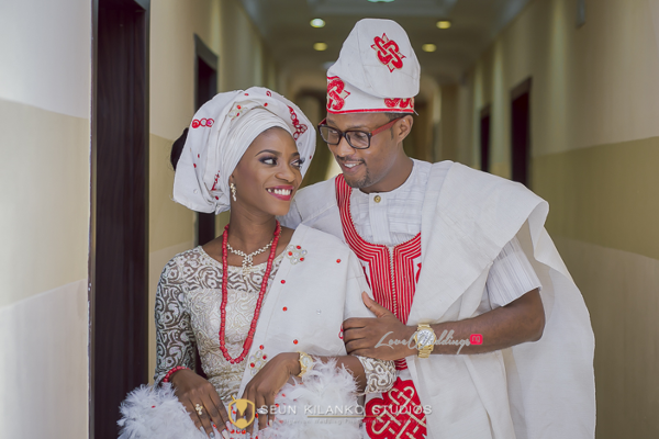 Nigerian Traditional Bride and Groom Lamide and Biodun Seun Kilanko Studios LoveweddingsNG 1