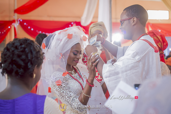 Nigerian Traditional Wedding Lamide and Biodun Seun Kilanko Studios LoveweddingsNG 6