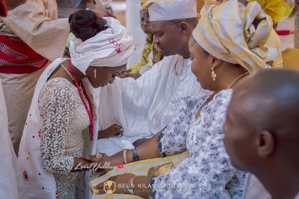 Nigerian Traditional Wedding Lamide and Biodun Seun Kilanko Studios LoveweddingsNG 9