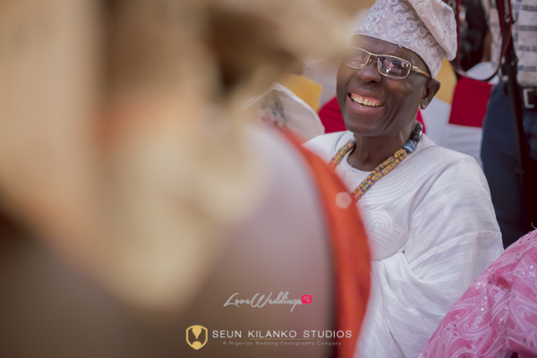 Nigerian Traditional Wedding Lamide and Biodun Seun Kilanko Studios LoveweddingsNG - Dad
