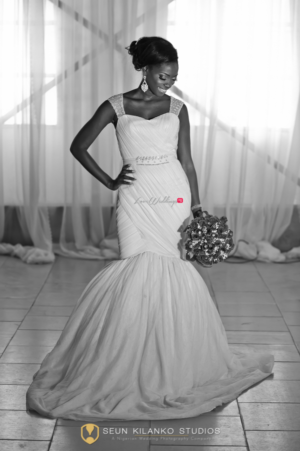 Nigerian White Wedding Bride Lamide and Biodun Seun Kilanko Studios LoveweddingsNG