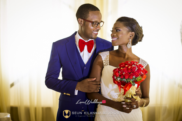 Nigerian White Wedding Bride and Groom Lamide and Biodun Seun Kilanko Studios LoveweddingsNG 2