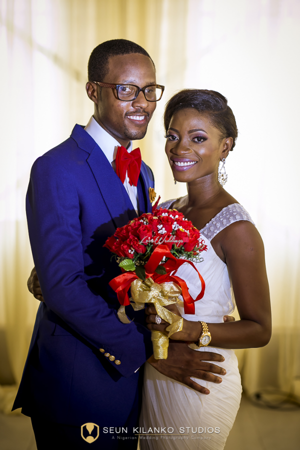 Nigerian White Wedding Bride and Groom Lamide and Biodun Seun Kilanko Studios LoveweddingsNG 3
