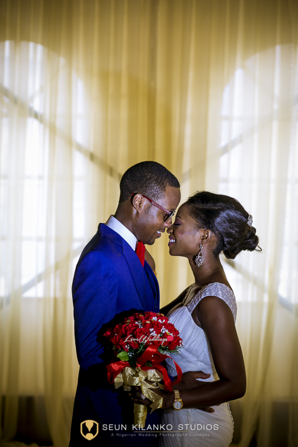 Nigerian White Wedding Bride and Groom Lamide and Biodun Seun Kilanko Studios LoveweddingsNG 4