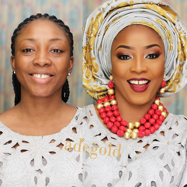 nigerian-bridal-makeover-before-and-after-adegold-mua-loveweddingsng