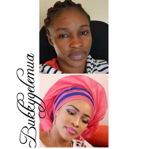 nigerian-bridal-makeover-before-and-after-bukky-gele-mua-loveweddingsng