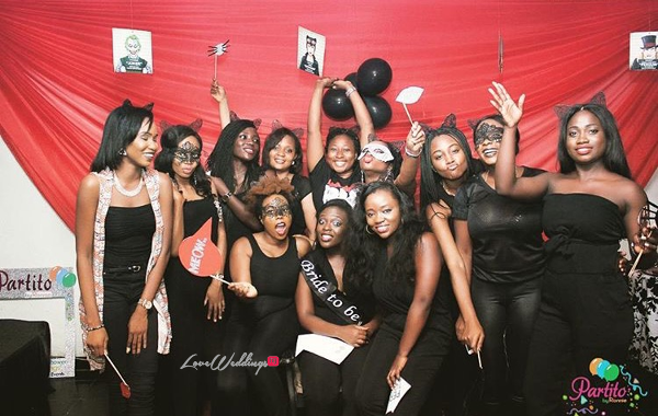 Fisayo's Sexy Cat Woman Themed Bridal Shower | Partito by Ronnie