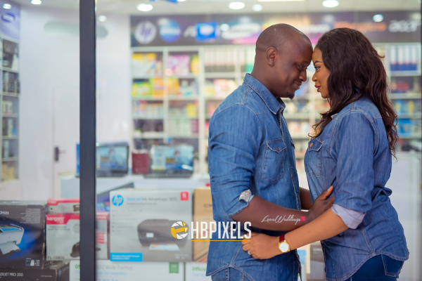 The 'BodyGuard Brother' Didn't Stop Dolapo & Ayo's Love | Happy Benson Pixels
