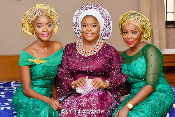 nigerian-traditional-bride-and-friends-seni-and-tope-klala-photography-loveweddingsng