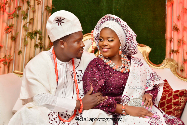 Seni and Tope's Traditional Wedding | Klala Photography