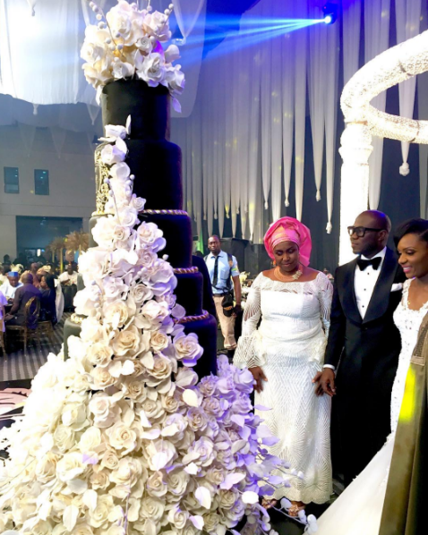 nigerian-wedding-cake-chioma-agha-and-wale-ayorinde-loveweddingsng-1