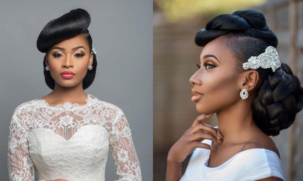 Stunning Bridal Inspiration From Charis Hair