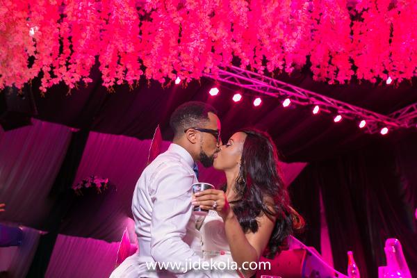 nigerian-bride-and-groom-kiss-frank-and-maureen-dubai-destination-wedding-jide-kola-loveweddingsng