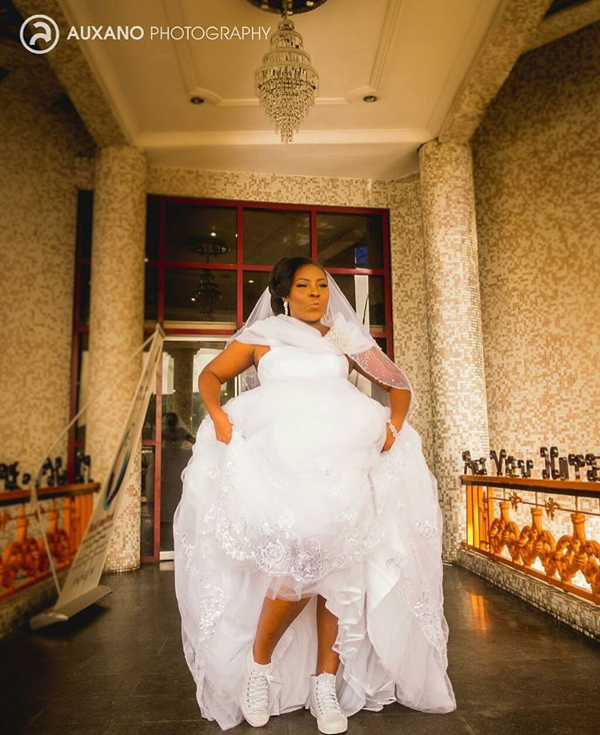 Nigerian Sneaker Wearing Bride Auxano Photography Loveweddingsng