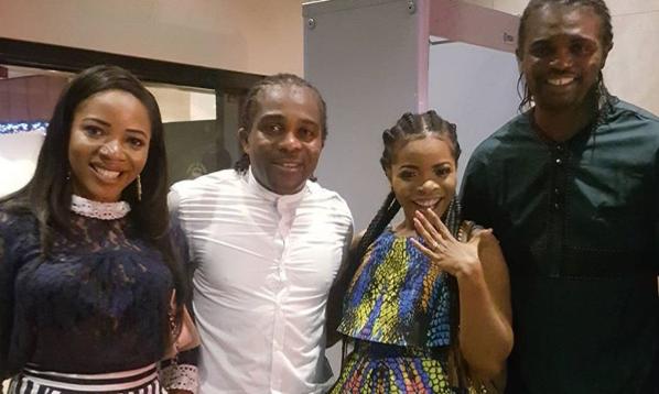 Laura Ikeji is engaged to Nwankwo Kanu's brother!!!