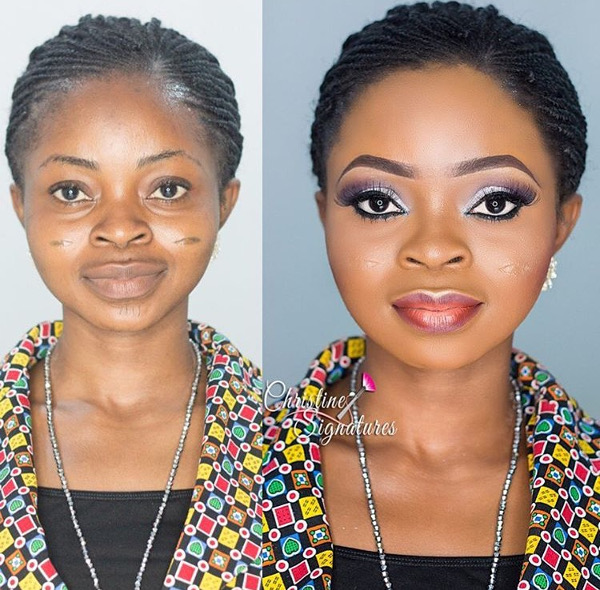 nigerian-bridal-makeovers-before-and-after-christine-signatures-loveweddingsng