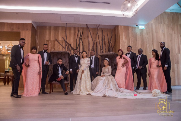 nigerian-couple-and-bridal-party-nosa-collins-teesalure-events-loveweddingsng