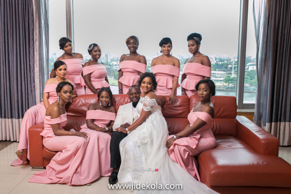 nigerian-couple-and-bridesmaids-faji2016-jide-kola-loveweddingsng