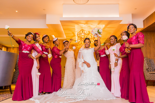nigerian-police-wedding-ify-and-chisom-bride-and-bridesmaids-the-event-girl-ng-loveweddingsng