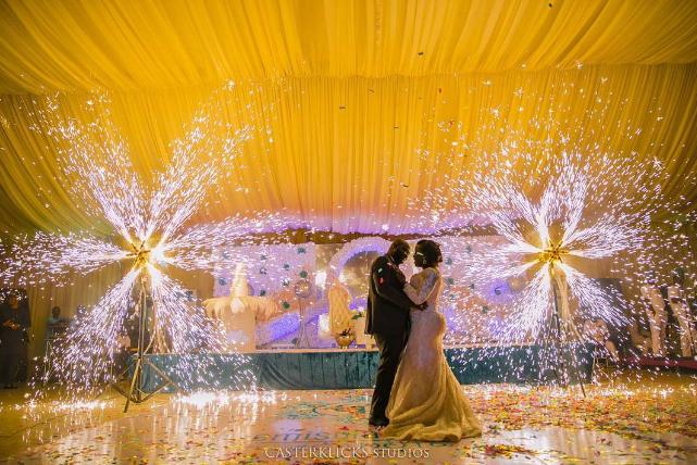 nigerian-wedding-trends-2016-sparklers-loveweddingsng