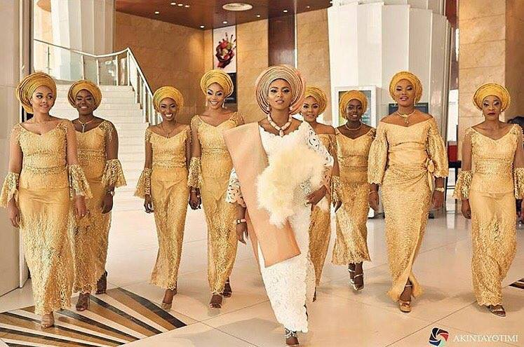 Stephanie Coker Olumide Aderinokun Traditional Wedding Akintayotimi LoveWeddingsNG