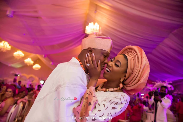 Exclusive!!! Stephanie Coker & Olumide Aderinokun's Traditional Wedding Pictures