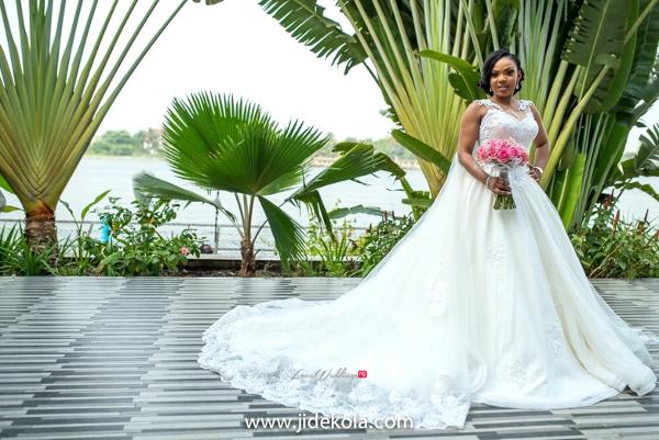 Nigerian Bridal Gown - Prince Kasali and Olori Abisoye Jide Kola LoveWeddingsNG