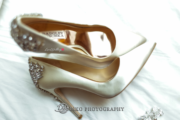 Nigerian Bridal Shoes Badgley Mischka Amaka and Oba 3003 Events LoveWeddingsNG