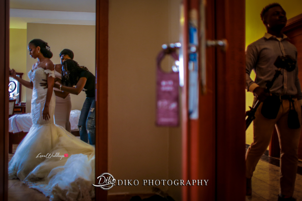 Nigerian Bride Getting Ready Amaka and Oba 3003 Events Diko Photography LoveWeddingsNG