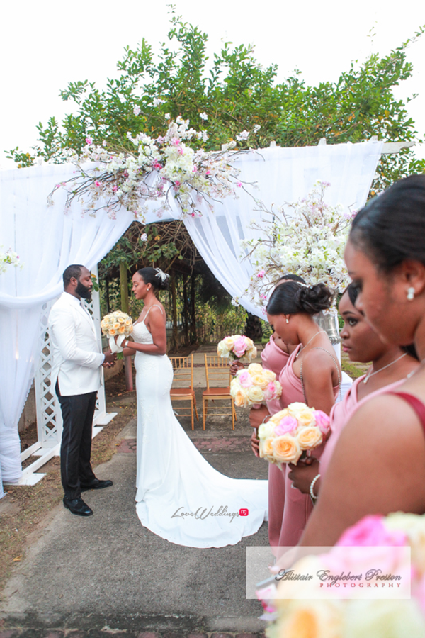 Nigerian Bride Groom And Bridesmaids Estelle Elvis