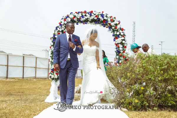Nigerian Bride and Dad Amaka and Oba 3003 Events LoveWeddingsNG