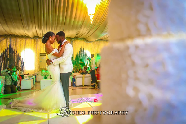 Nigerian Bride and Groom First Dance Amaka and Oba 3003 Events LoveWeddingsNG 1