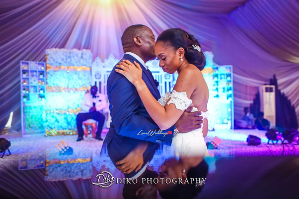 Nigerian Bride and Groom First Dance Amaka and Oba 3003 Events LoveWeddingsNG