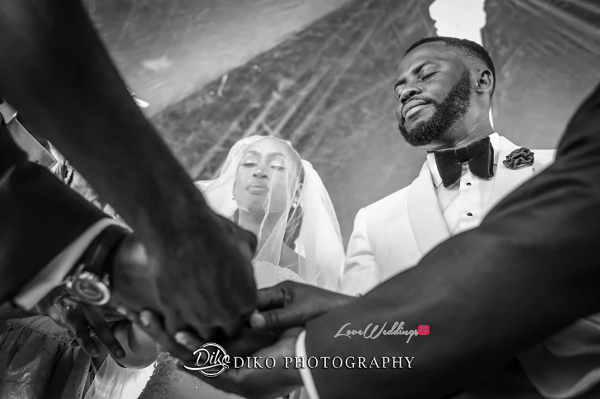 Nigerian Bride and Groom Joined Together Amaka and Oba 3003 Events LoveWeddingsNG 1