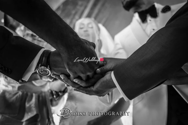 Nigerian Bride and Groom Joined Together Amaka and Oba 3003 Events LoveWeddingsNG