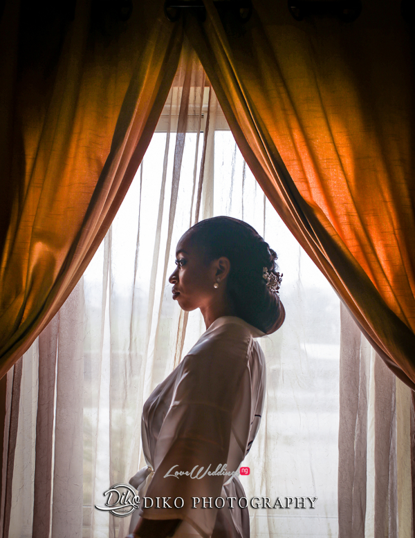 Nigerian Bride in Robe Amaka and Oba 3003 Events Diko Photography LoveWeddingsNG