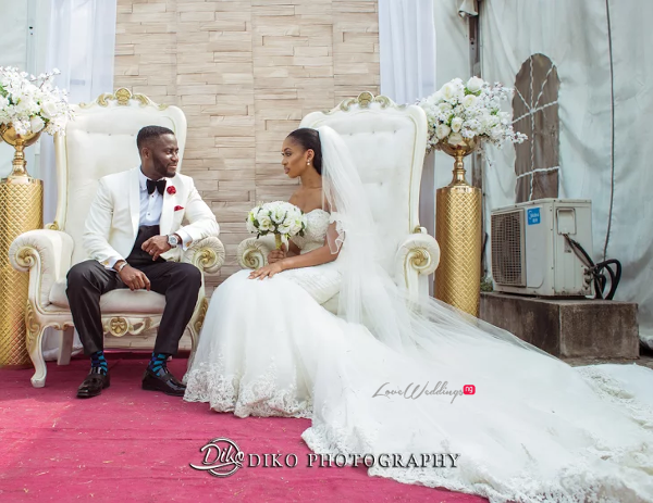 Nigerian Couple Amaka and Oba 3003 Events LoveWeddingsNG 1
