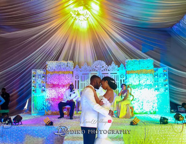 Nigerian Couple First Dance Amaka and Oba 3003 Events LoveWeddingsNG