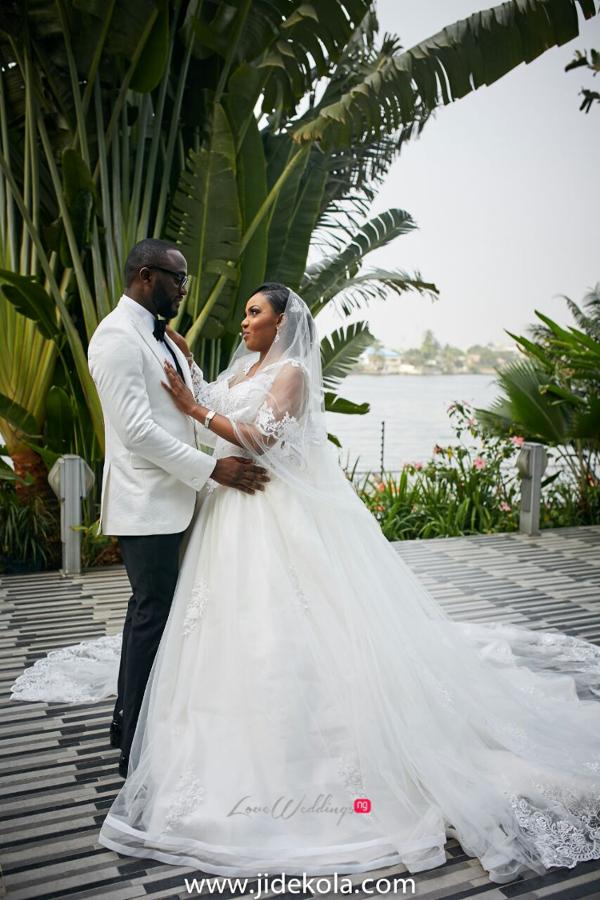 Nigerian Couple - Prince Kasali and Olori Abisoye Jide Kola LoveWeddingsNG 1