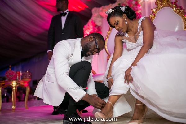 Nigerian Couple - Prince Kasali and Olori Abisoye Jide Kola LoveWeddingsNG