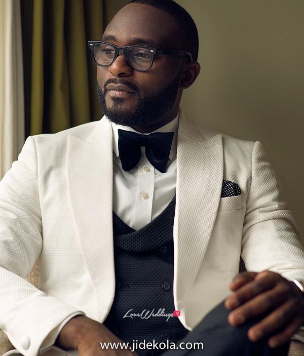 Nigerian Groom - Prince Kasali and Olori Abisoye Jide Kola LoveWeddingsNG