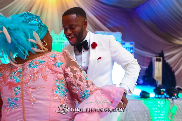Nigerian Groom and Mum Amaka and Oba 3003 Events LoveWeddingsNG
