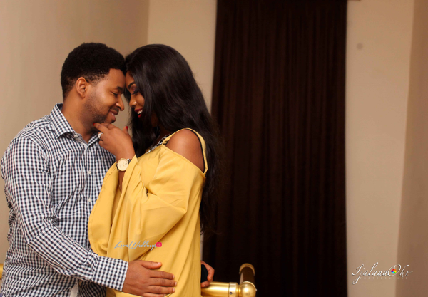 Nigerian PreWedding Shoot Bidemi and Kenny Ijalana Oke LoveWeddingsNG 2