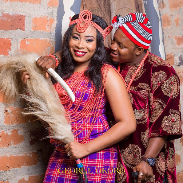 Nigerian Traditional Themed PreWedding Shoot Adaugo and Uche George Okoro LoveWeddingsNG