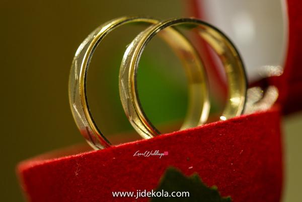 Nigerian Wedding - Prince Kasali and Olori Abisoye Wedding Rings LoveWeddingsNG