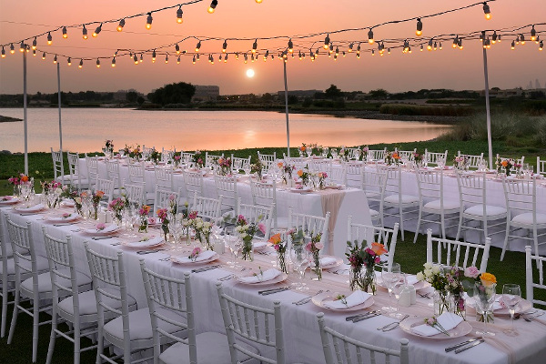 The Wedding Fair by Emaar Hospitality Group. Venue Option- Water's Edge at Arabian Ranches Golf Club