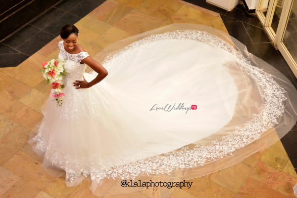 Nigerian Bridal Gown Dami and Bayo Klala Photography LoveweddingsNG