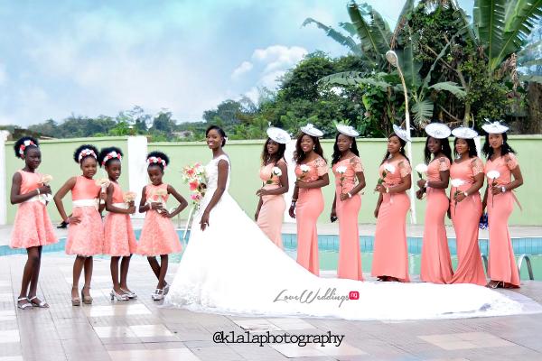 Nigerian Bride and Bridesmaids Dami and Bayo Klala Photography LoveweddingsNG 1